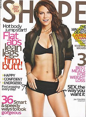5 Issues of Shape Magazine - September 2015 - February 2016 - Lot 2
