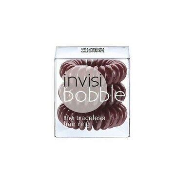 Invisibobble Haargummi chocolate brown 3er-Set