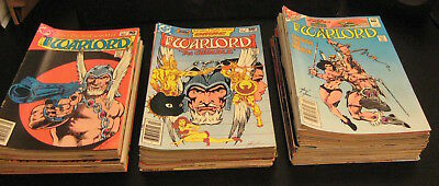 Wow! MEGA-LOT of *70* DC WARLORD: #2,3,4,≈14-95,+2! <---w/MEGA-RUN #41-85! (VF+)
