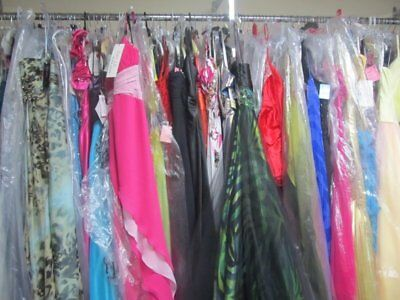 LOT of 6 PROM PAGEANT HOMECOMING CRUISE FORMAL DRESSES SIZES 0,2,4 NWT $1200 VAL