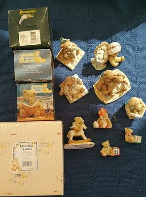 Cherished Teddy's Figurines - Lot of 13. Lot# CT2