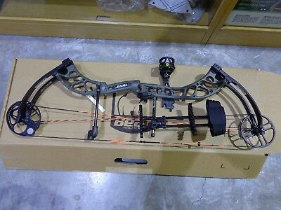 "Bear Wild Compound bow Olive RTH 70# 24-31"" Bow Kit - NEW in Box"