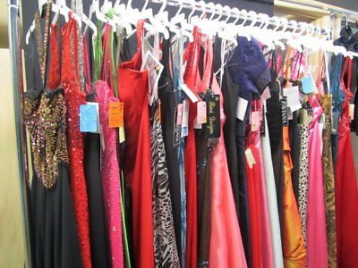 LOT of 6 PROM PAGEANT HOMECOMING SOCIAL FORMAL DRESSES SIZE 6-8 NWT $1200VALUE