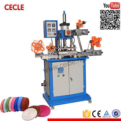 Pneumatic Automatic Hot Foil Stamping Machine Leather Hot Stamping Machine