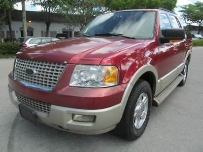 2005 Ford Expedition  2005 Ford Expedition Eddie Bauer 4dr SUV 131471 Miles Red SUV 5.4L V8 Automatic