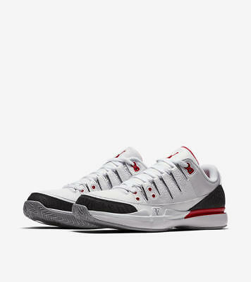 JY Sports New Nike Zoom Vapor Tour RF X  AJ3 Sneakers Fire Red 709998 106
