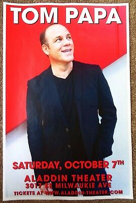 TOM PAPA 2017 Gig POSTER Comedy Portland Oregon