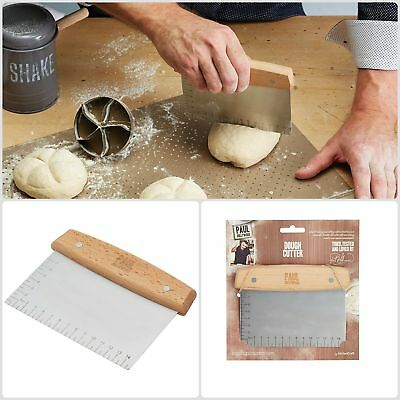 Paul Hollywood Dough Scraper Cutter 16.5 x 11 5 Cm 6 5 x 4 5 Fabulously Tool New