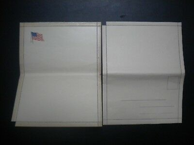 Lot Of 2 Wwi Unused Soldier's Mail Letter Sheets
