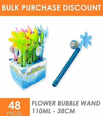 48x Children Kid Bubble Wand Sword Stick Beach Summer Outdoor Toys Party Favour