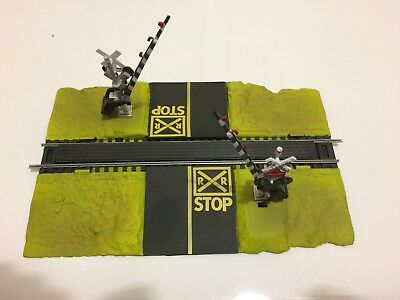 Ho Scale Railway Crossing
