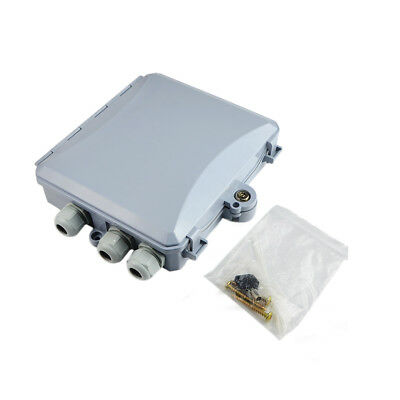 Hard Waterproof Outdoor Fiber optic terminal box FOR PLC Splitter(Not included)
