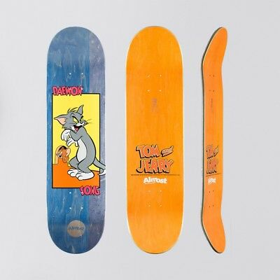 """Almost Tom & Jerry R7 Deck Daewon Song - 8.25""""- Free Grip - Free P&P"""
