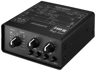 Stage Line MPA-102 Microphone Preamplifier - Free UK Delivery - Brand New