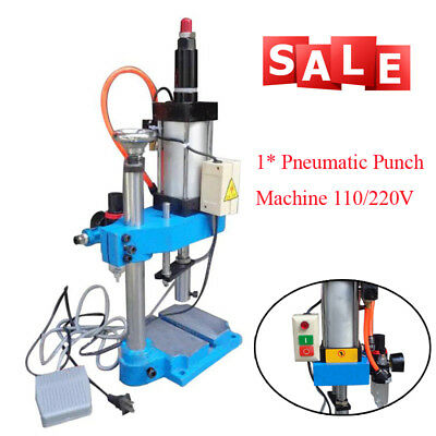 Pneumatic Punch machine 110V/220V Cylinder Stroke Pneumatic Press Easy To Use