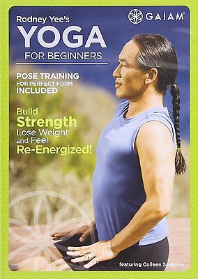 RODNEY YEE : YOGA FOR BEGINNERS -  DVD - Region 2 UK Compatible - New & sealed