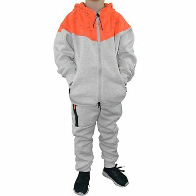 Closeout - Set Full / Complete Jogging - Child - Kids Set Bl03 - Ecru C New