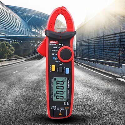 UNI-T UT210E Digital Clamp Meter Multimeter Handheld RMS AC/DC Mini Resistanc LD