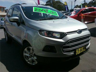 2014 Ford Ecosport BK Trend Silver Automatic A Wagon