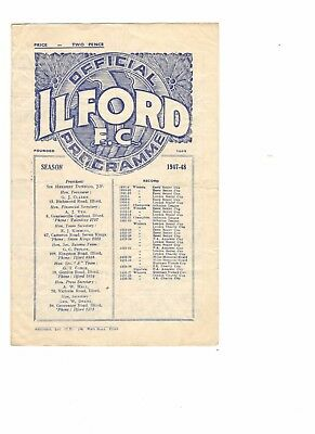 Edgware Town v Leytonstone 1947 - 1948  London Senior Cup Final at Ilford FC