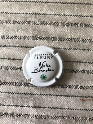 Capsule Champagne Fleury Notes Blanches