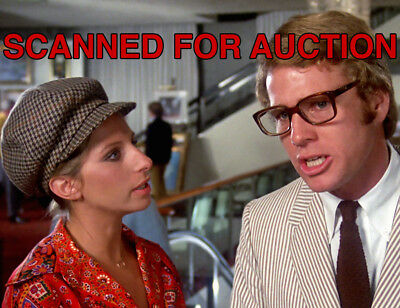 BARBRA STREISAND  - RYAN O'NEAL - WHAT'S UP, DOC? - 8x10 Unpublished Color Photo