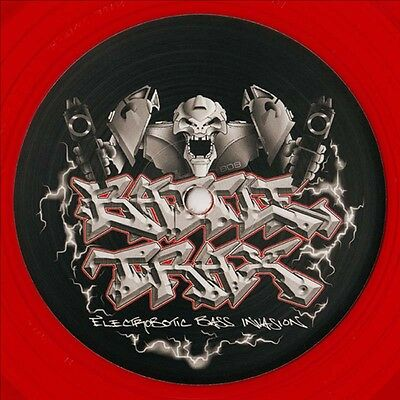 Kronos Device (Bass Junkie) - Kill Switch Ltd Edition Red 12 Inch Vinyl Electro