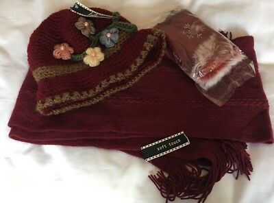 Hat, Scarf And Mitts Set - Unwanted Gift