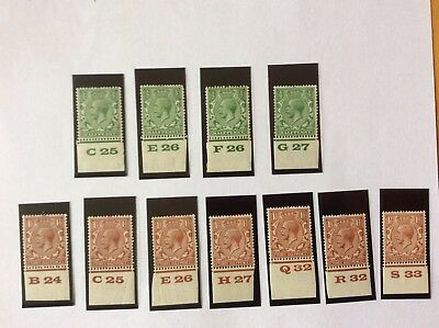 King George V Gb Stamps