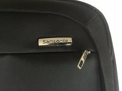 Samsonite Carry On Cabin Suitcase - Detachable Laptop Insert - Extra Long Handle