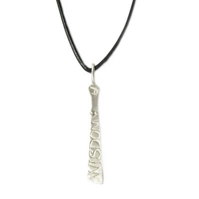DIANA PORTER Sibyl Pendant - Silver with silver