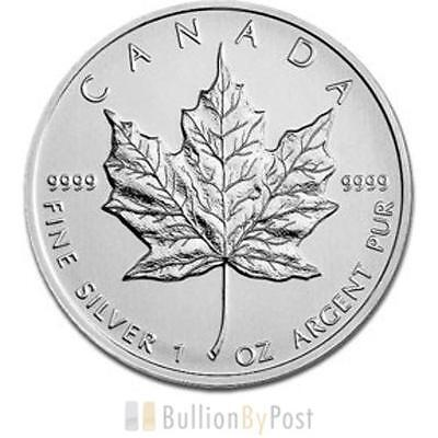 1 x 1oz Silver Maple