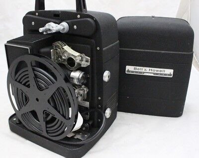 Vintage Bell and Howell Model 256 EX 8mm Cine Projector - 250
