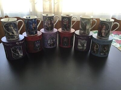 Anne Stokes Fantasy Collection 6 Mugs Brand New