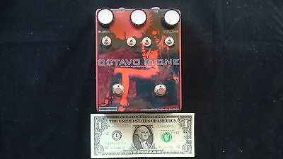 Erafuzz Octavo Stone Electric Guitar Octave Up Fuzz Pedal - Christmas Sale!