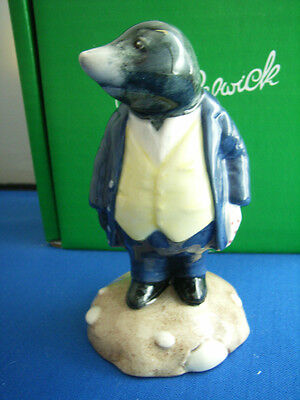 The Wind In The Willows  Mole  Wiw 5 Limited Edition  Beswick  Royal Doulton Mib