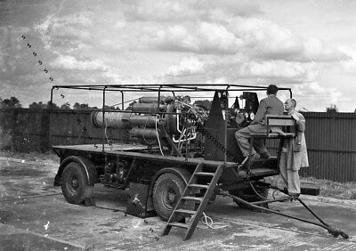 Photographic Celluloid Negative Testing Gas Turbine Engine Leicester Sept 1947