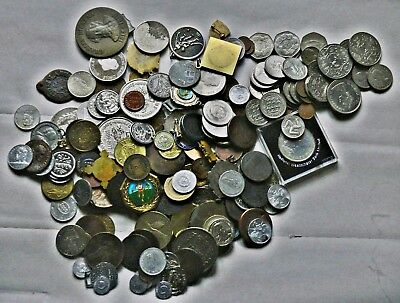 2 Kgs Coins, Medals, Tokens, Elongated Pennies, Fobs, Proceeds Go To Ms Research
