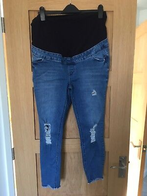 Women's Maternity Over The Bump Jeans Size 14