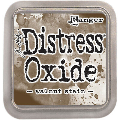 Tim Holtz Ranger-Distress Oxides Ink Pad. Water-Reactive & Pigment Ink Fusion Th