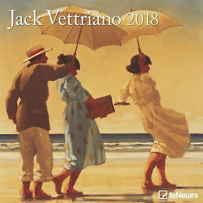 Jack Vettriano Official 2018 Square Wall Calendar