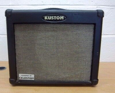 Guitar Amplifier Kustom Dual 35DFX Celestion music band