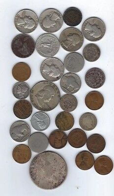 Awesome United States Type Coin Collection, 90% Silver & More, 30 Coins Total