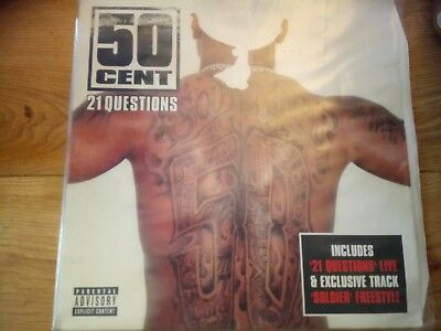 50 cent vinyl 12 inch single in vg condition
