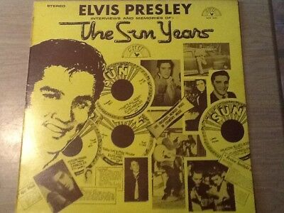 Elvis Presley Interviews And Memories Of The Sun Years Sun1001