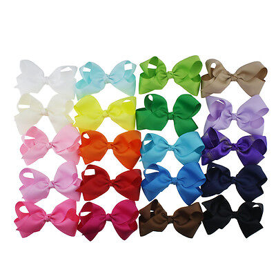 WHOLESALE JOB LOT BUTTERFLY 25 HAIR BOWS  Dance Signature Alligator Clip 7.5""