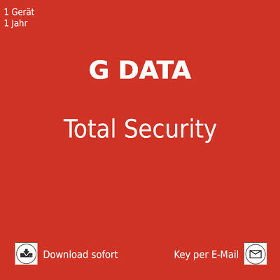 G Data Total Security 2018 1 PC 1 Jahr Download