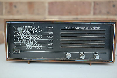 His Master's Voice Transistor Radio Single Band