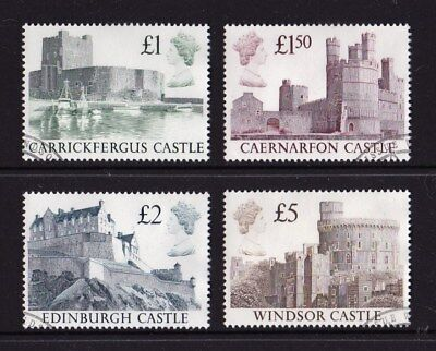 Great Britain 1988 Castles Set of 4 High Quality Used