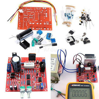 Stabilized Continuous Adjustable DC Regulated Power Supply DIY Kit 0-30V 2mA-3A